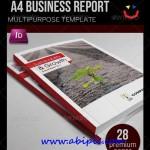 دانلود طرح آماده ایندیزاین بروشور و گزارش سالانه Annual Report Design Template
