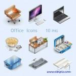 دانلود مجموعه آیکون های اداری دفتری Collection of Office Icons