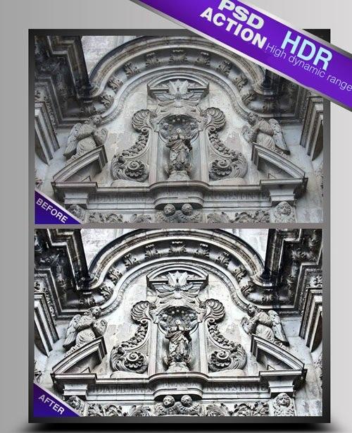 دانلود اکشن HDR کردن تصاویر شماره 5 HDR Photoshop Actions