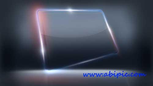 دانلود طرح لایه باز فریم شیشه ای Hi-tech Finished Glass Frame