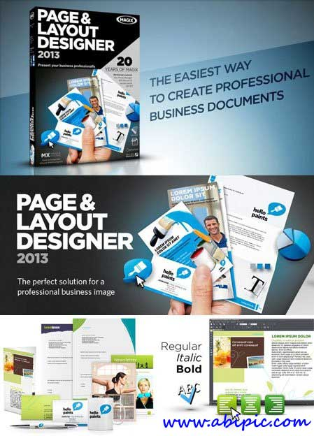 MAGIX Page & Layout Designer 2013 8.1.4.24911