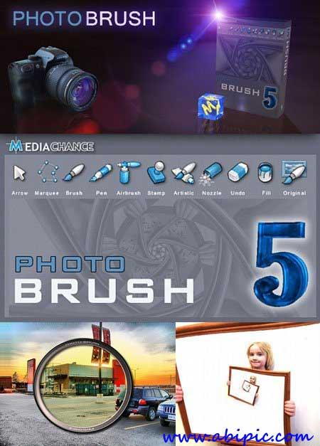 دانلود نرم افزار ویرایش عکس Mediachance Photo Brush 5.30