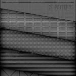 دانلود پترن های فتوشاپ با الگوی فلزی مشبک Metal Grid Patterns