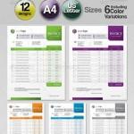 دانلود طرح وکتور فاکتور فروش شماره 3 GraphicRiver Generic Modern Invoice