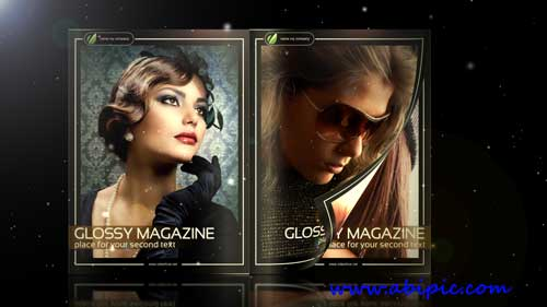 دانلود پروژه افترافکت Glossy Magazine - Projects for After Effects