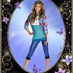 دانلود قاب عکس با طرح گل یاس و پرواوانه photo frame Lilac flowers – butterflies