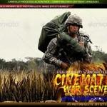 دانلود افکت سینماتیک صحنه های جنگی GraphicRiver Cinematic War Scene Effects