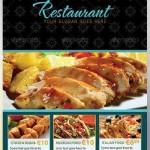 دانلود پوستر تبلیغاتی رستوران شماره 6 The Restaurant Flyer