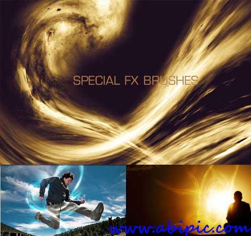 دانلود براش افکت های دینامیکی نور Dynamic Light Special FX Brushes