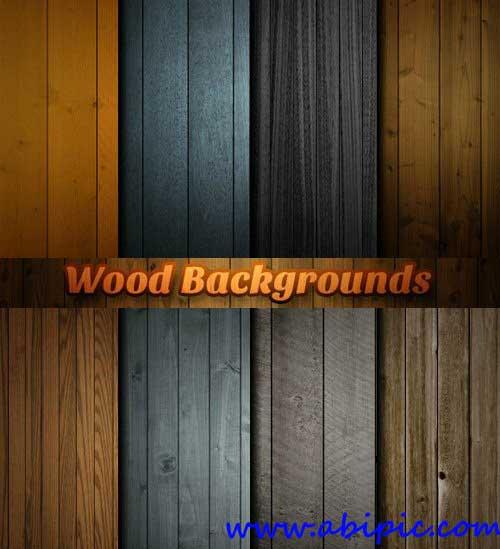 دانلود بک گراند های لایه باز پنل های چوبی شماره 1 Wood Panel Backgrounds