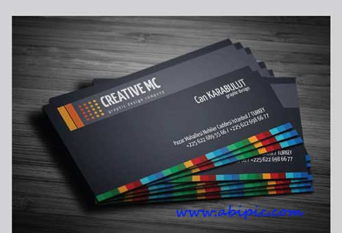 دانلود طرح لایه باز کارت ویزیت شرکتی Corporate Business Cards