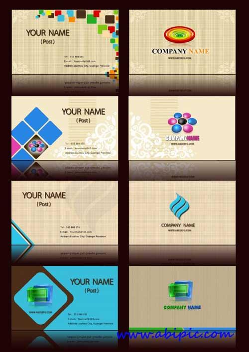 دانلود مجموعه کارت ویزیت های خلاقانه شماره 4 Creative business card