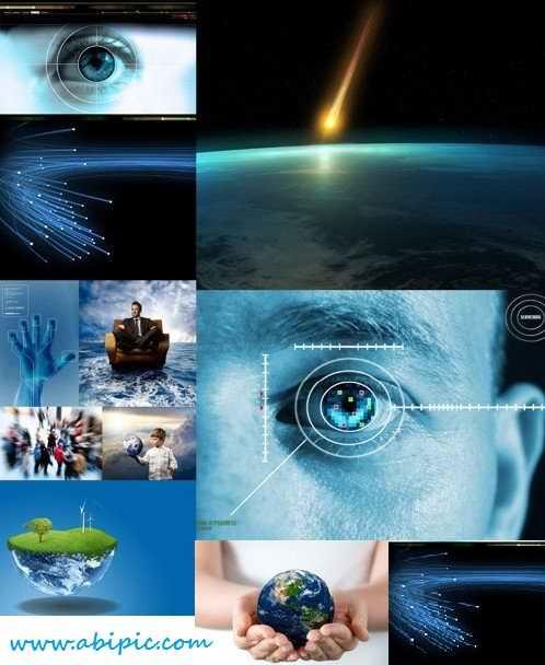 دانلود 12 تصویر استوک علم و تکنولوژی  HQ Images Science and technologies