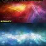دانلود 30 بک گراند لایه باز فتوشاپ بوکه Bokeh Abstract Backgrounds