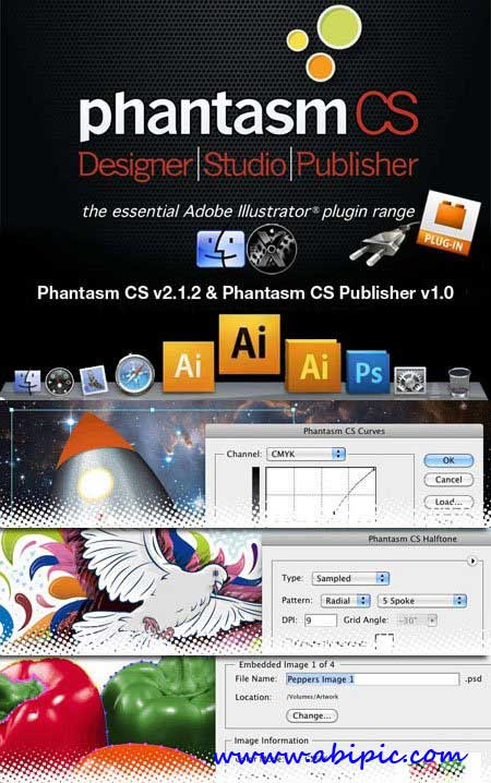 دانلود پلاگین Astute Phantasm CS Publisher 2.8.1 برای Adobe Illustrator