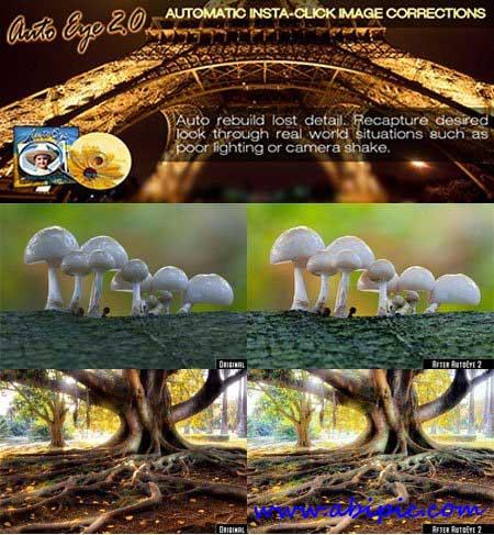 دانلود پلاگین بازیابی جزئیات عکس Auto FX AutoEye 2.11 Plugin Adobe Photoshop
