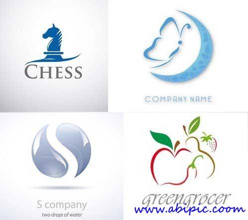 دانلود پک وکتور لوگو با طرح های مختلف سری 1 Logo Elements Vector Set