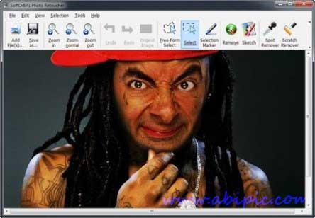 دانلود نرم افزار ویرایش عکس SoftOrbits Photo Retoucher 1.3 Multilingual