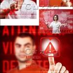 دانلود تصاویر استوک با مفهوم تشخصی ویروس اخطار Virus alert Stock photo