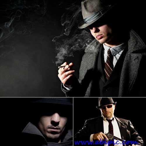 دانلود تصاویر استوک گانگستر Gangster Stock Photo