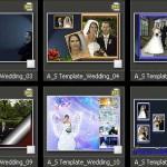 دانلود آلبوم دیجیتال عروس و داماد شماره 12 Photo Album Templates – Wedding