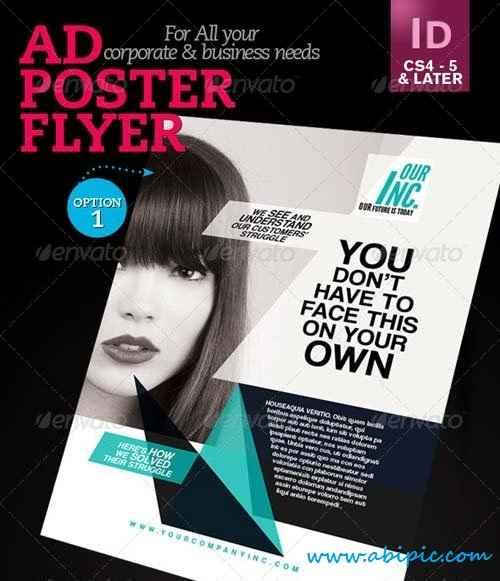 دانلود پوستر ایندیزاین برای تبلیغ شرکت ها