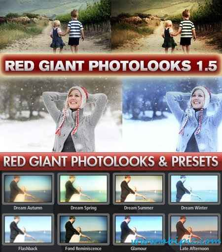 دانلود نرم افزار Red Giant Photolooks 1.5 + Looks Presets