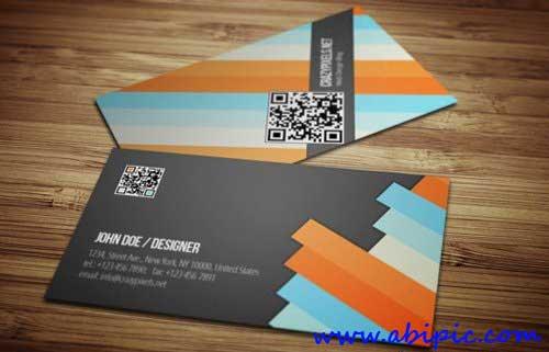 دانلود طرح لایه باز کارت ویزیت طراح Designer Business Card PSD