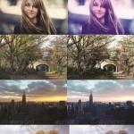 دانلود 24 اکشن تغییر رنگ فتوشاپ GraphicRiver 24 Coloring Photoshop Action