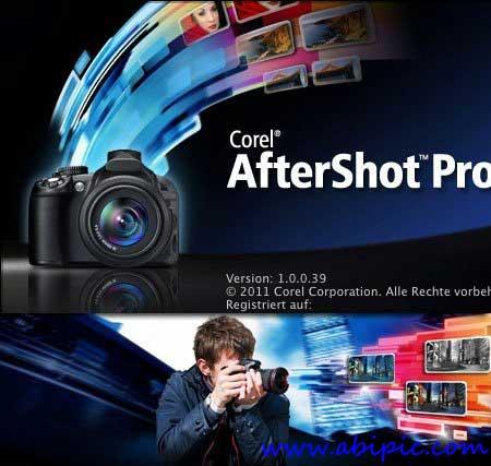 دانلود نرم افزار ویرایش حرفه ای عکس Corel AfterShot Pro 1.1.1.10