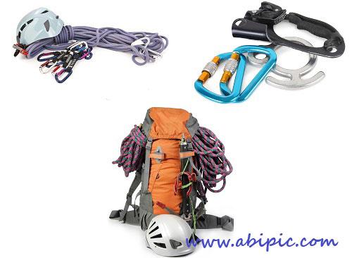 دانلود تصاویر استوک لوازم کوهنوردی HQ Images Climbing Equipment