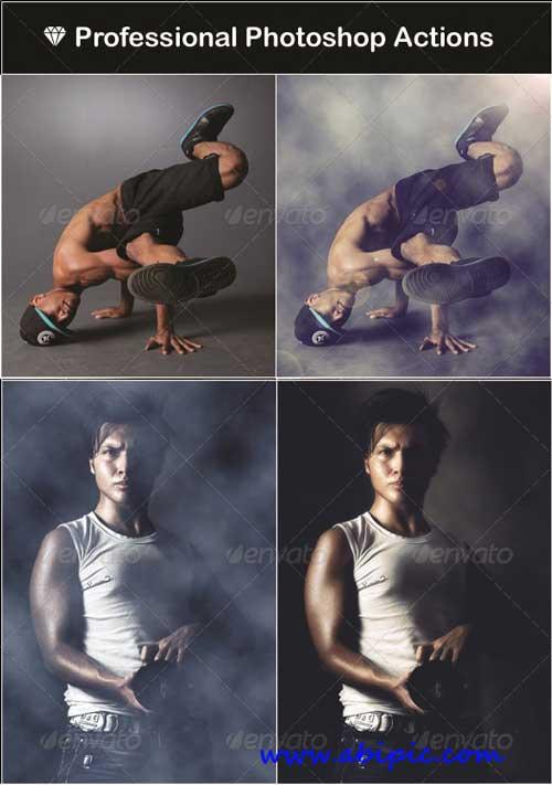 مجوعه اکشن حرفه ای فتوشاپ برای عکاسان Professional Actions for Photographers