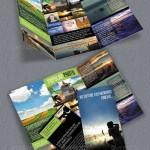 طرح لایه باز بروشور 3 لت مخصوص عکاسی Trifold Brochure For Photography
