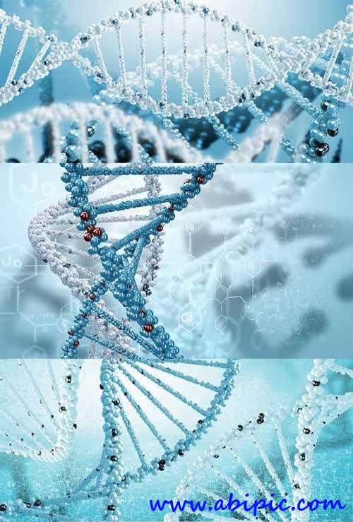 دانلود تصاویر استوک از ساختار و شکل دی ان ای HQ Images DNA Scheme