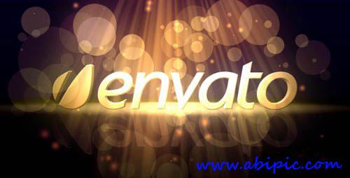 پروژه افتر افکت نمایش زیر نورهای جادویی Heavenly Logo Intro Project After Effects