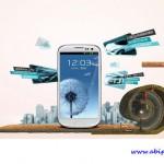 طرح لایه باز تبلیغاتی گوشی هوشمند PSD Creative Advertising SmartPhone