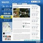 دانلود طرح لایه باز قالب سایت فروشگاهی و معامالاتی PSD Premium Deals Website