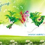 دانلود سورس لایه باز فتوشاپ بهار PSD Source – Spring 2013