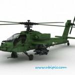 دانلود مدل 3 بعدی هلیکوپتر جنگی Military Assault Helicopter