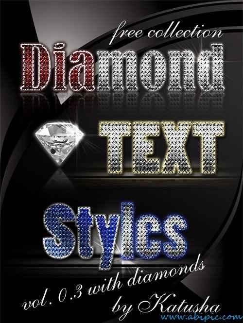 دانلود استایل فتوشاپ با طرح الماس