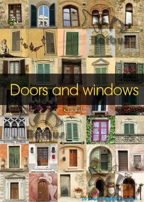 دانلود تصاویر استوک از در و پنجره Doors and windows