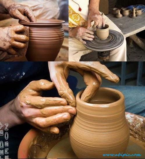 دانلود تصاویر استوک سفالگری HQ Images Pottery
