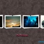 دانلود طرح لایه باز عکس های سنجاق شده Pin Pictures