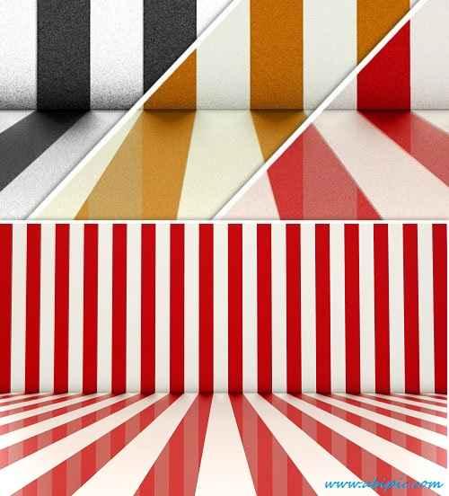 دانلود بک گراندهای با طرح خط های عمودی Striped Backdrops PNG Clipart