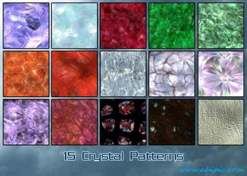 دانلود پترن های کریستالی Crystal Patterns