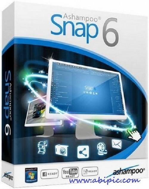 نرم افزار تصوری برداری از دسکتاپ Ashampoo Snap 6.0.5
