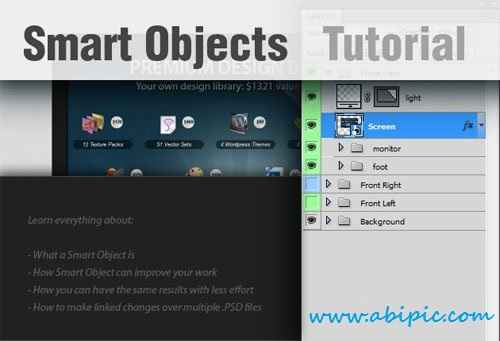 دانلود آموزش ساخت اسمارت آبجکت در فتوشاپ Create Smart Objects in Photoshop