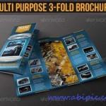 دانلود بروشور 3 لت چند منظوره شماره Multi Purpose 3-Fold Brochure