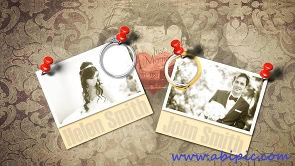 دانلود افترافکت مخصوص عروسی Wedding Photo Album Project After Effects