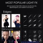دانلود براش 82 افکت نور برای عکس 82 Light Photoshop Effects